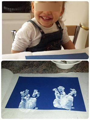 Olivia, atelier pâques 2015, petite enfance, blog, nourice