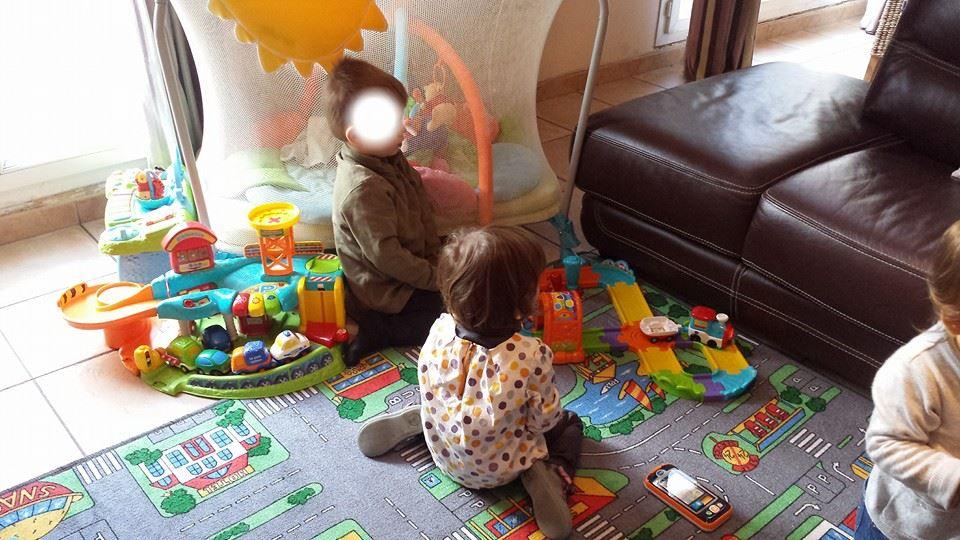 assistante maternelle Villeparisis, Collin Sylvie, le nouveau train