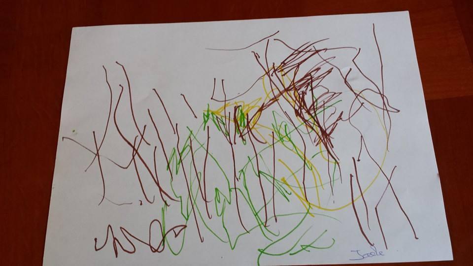Jade dessine maman, assistante maternelle Villeparisis