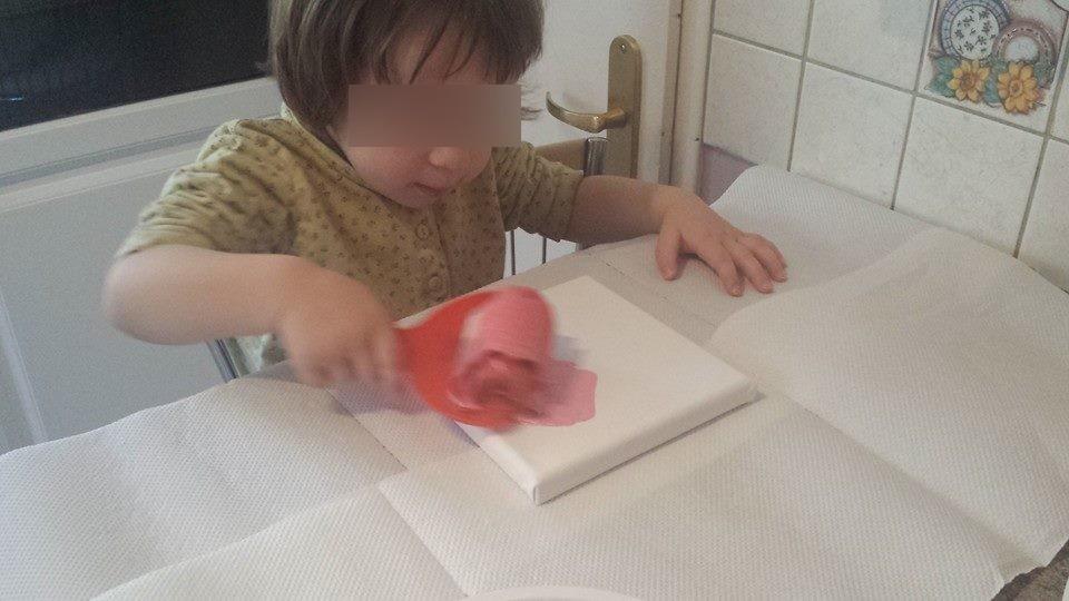 Jade,atelier, nos petits cadeaux d'amour, Saint valentin 2015, Collin Sylvie assistante maternelle