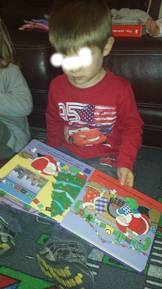 La ronde des chérubins, ambiance Noël