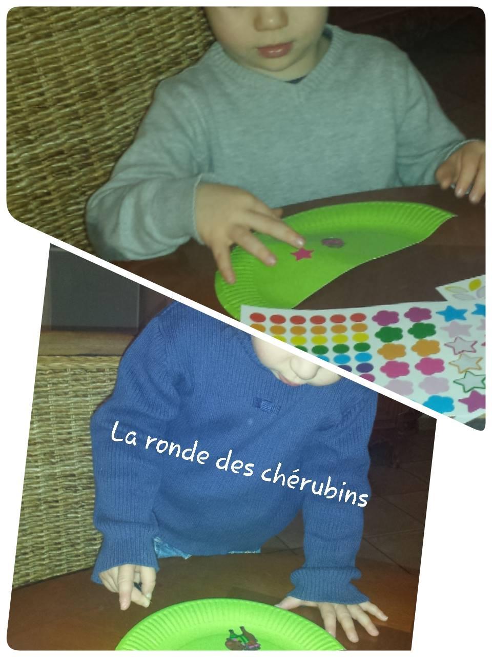 Les petits chérubins en action, petite enfance, Collin Sylvie Villeparisis
