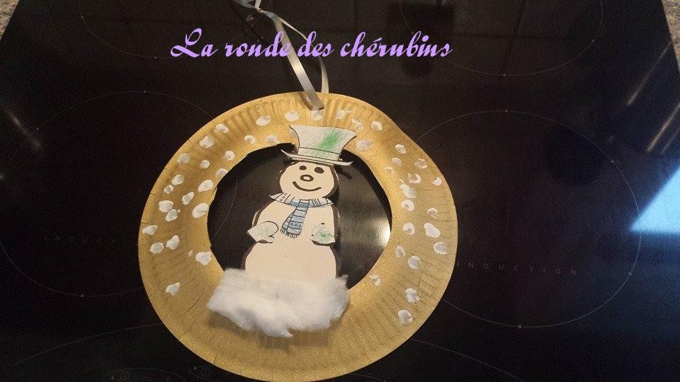 assistante maternelle Villeparisis, le bonhomme de neige