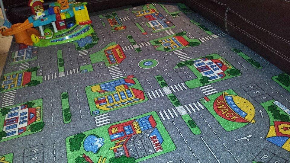 nouveau tapis routier