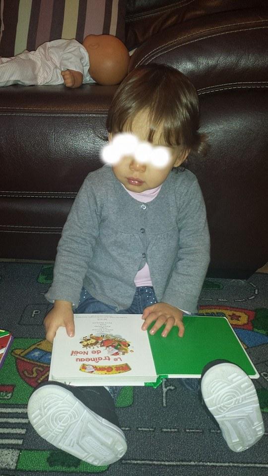 Lecture de Noël,assistante maternelle Villeparisis