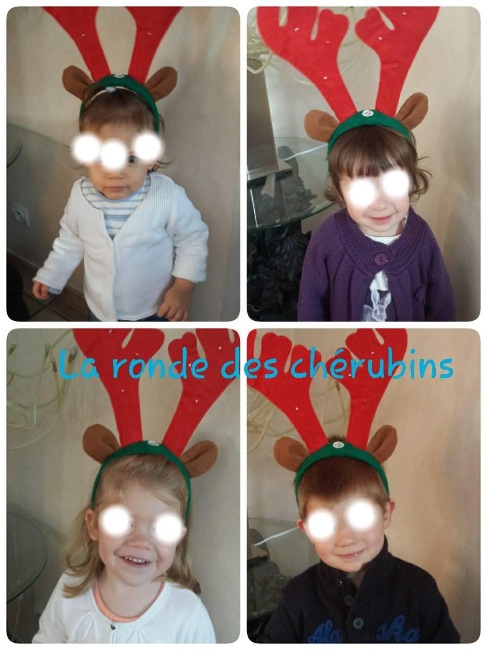 la ronde des chérubins: les petits rennes