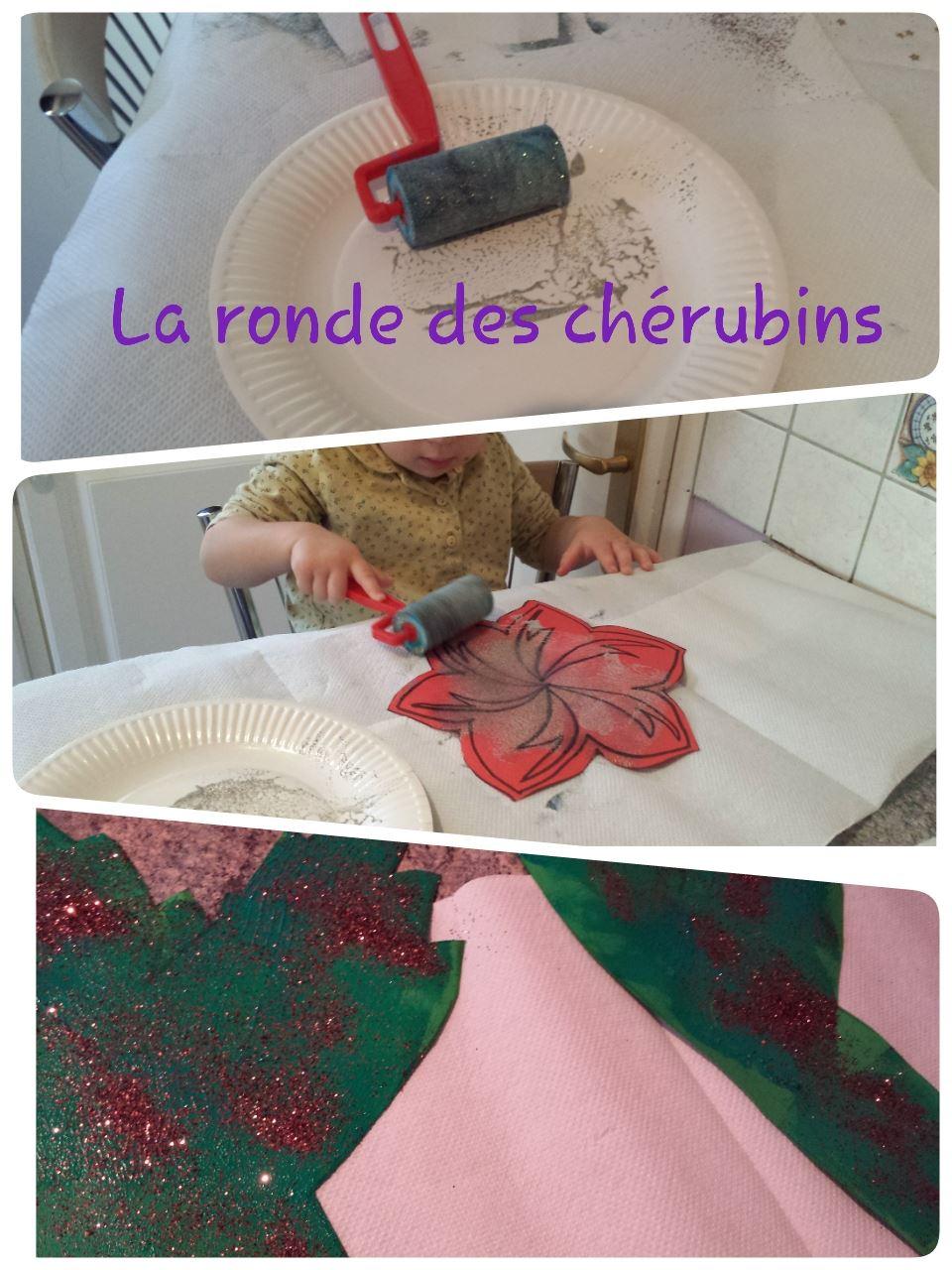 Atelier de noël, assistante maternelle Villeparisis