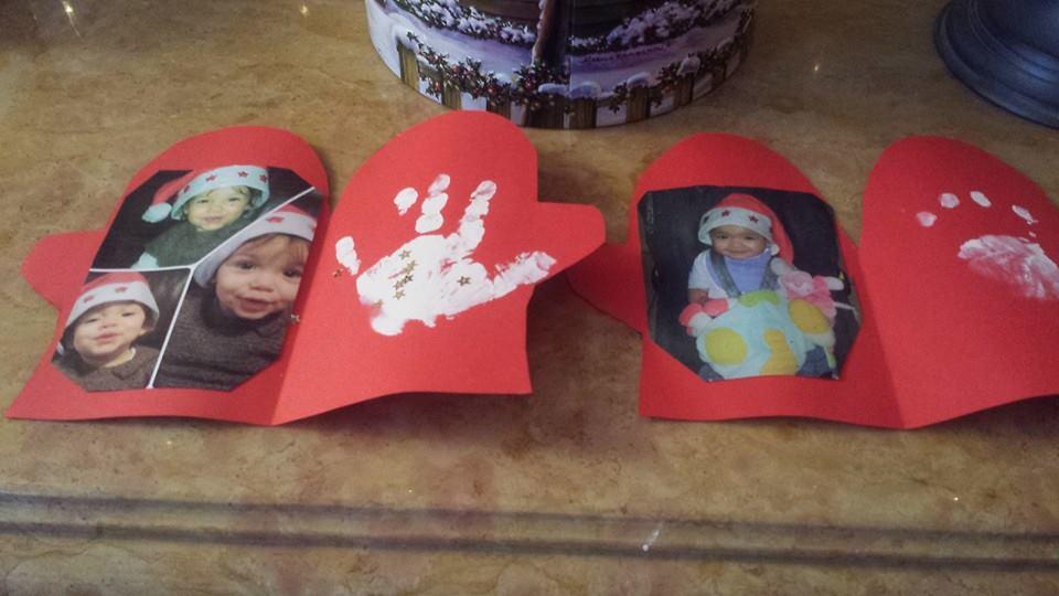 ma première carte de Noël, assistante maternelle Villeparisis