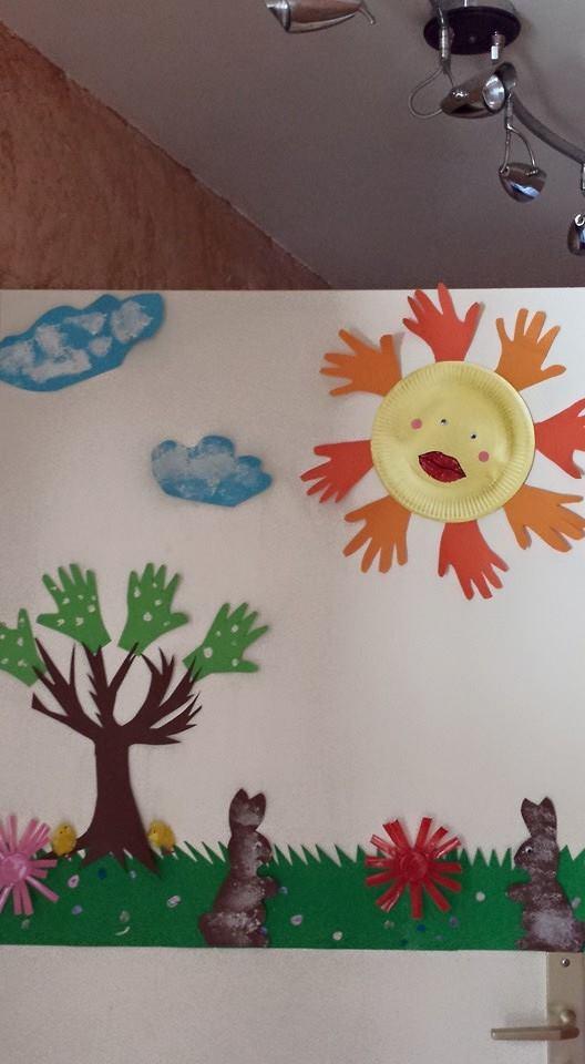 Vive le primtemps, assistante maternelle Villeparisis, mars 2015