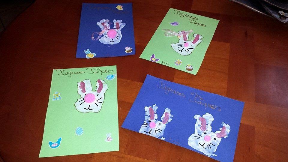 cartes de Pâques, nourrice Villeparisis, places disponibles