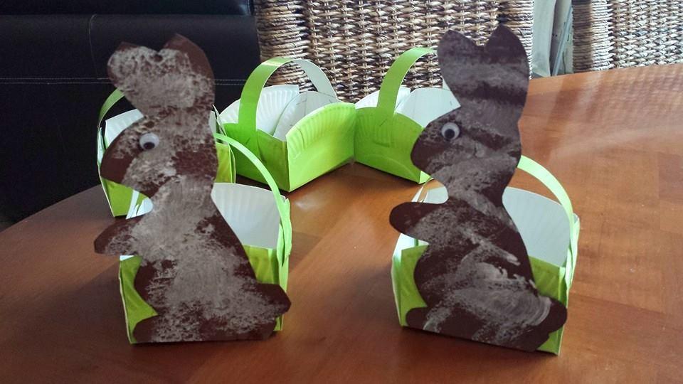 petits paniers de Pâques,assistantes maternelles Villeparisis,collin Sylvie