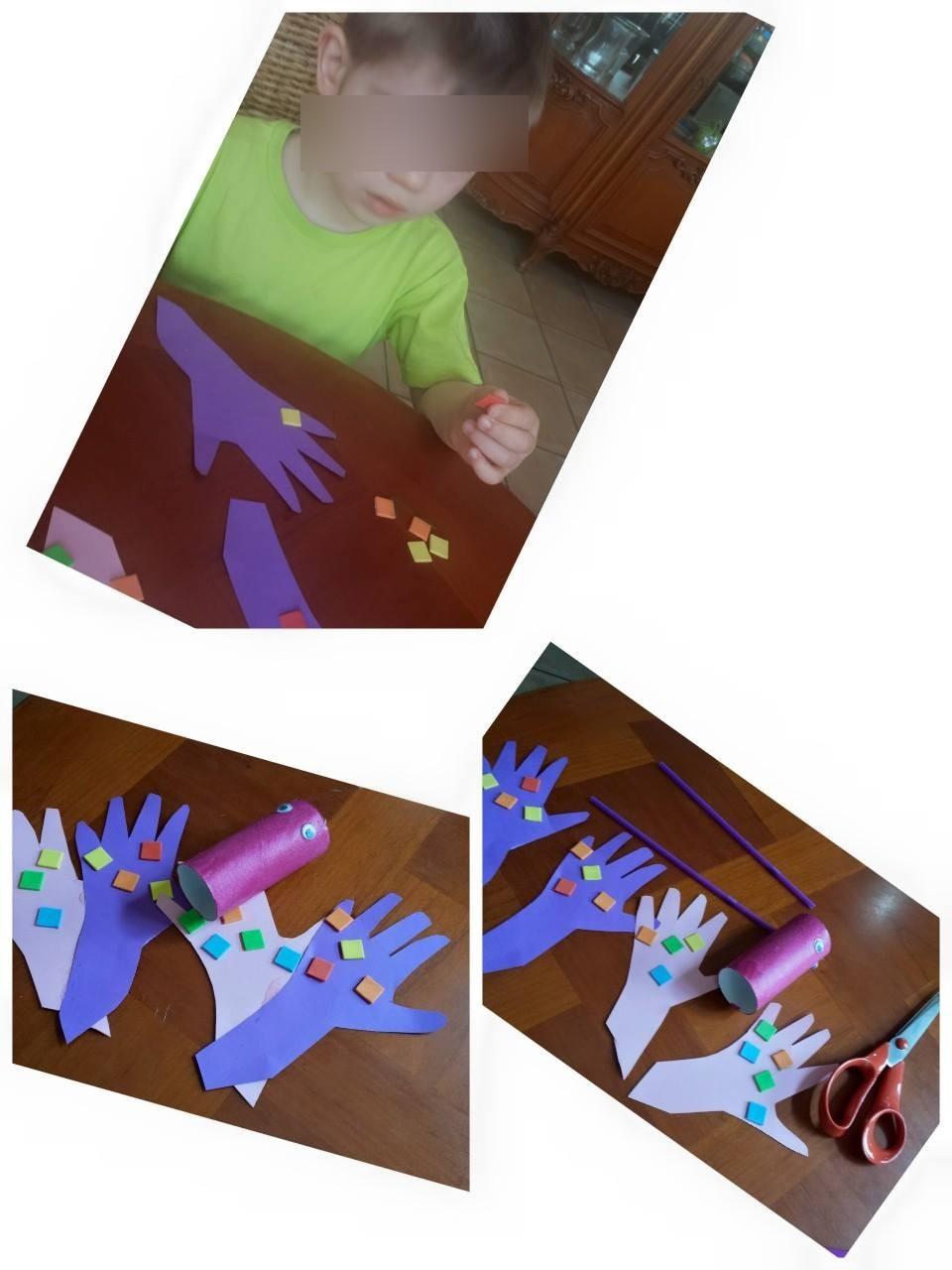 Collage de gommette, ateleir assistante maternelle Villeparisis, blog