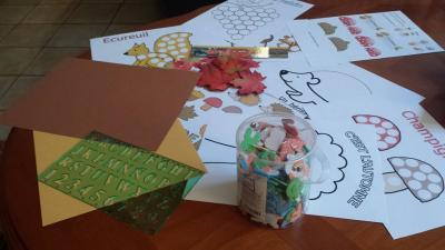 L'imagier d'automne, le matériel, blog, assistante maternelle
