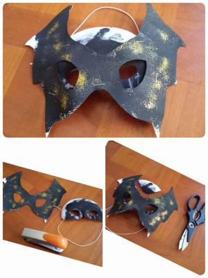 masque de chauve-souris: Montage