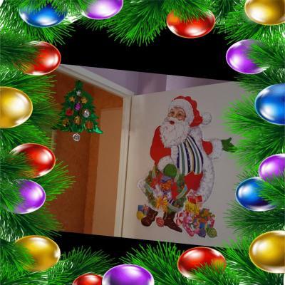 le père Noël, assistante maternelles Villeparisis