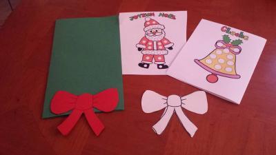 Carte de Noël, assistante maternelle Villeparisis