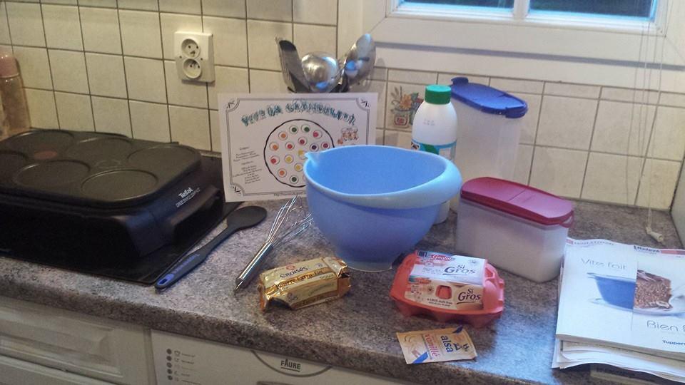 ma première pâtes à crêpes, chandeleur 2015, assistante maternelle Villeparisis