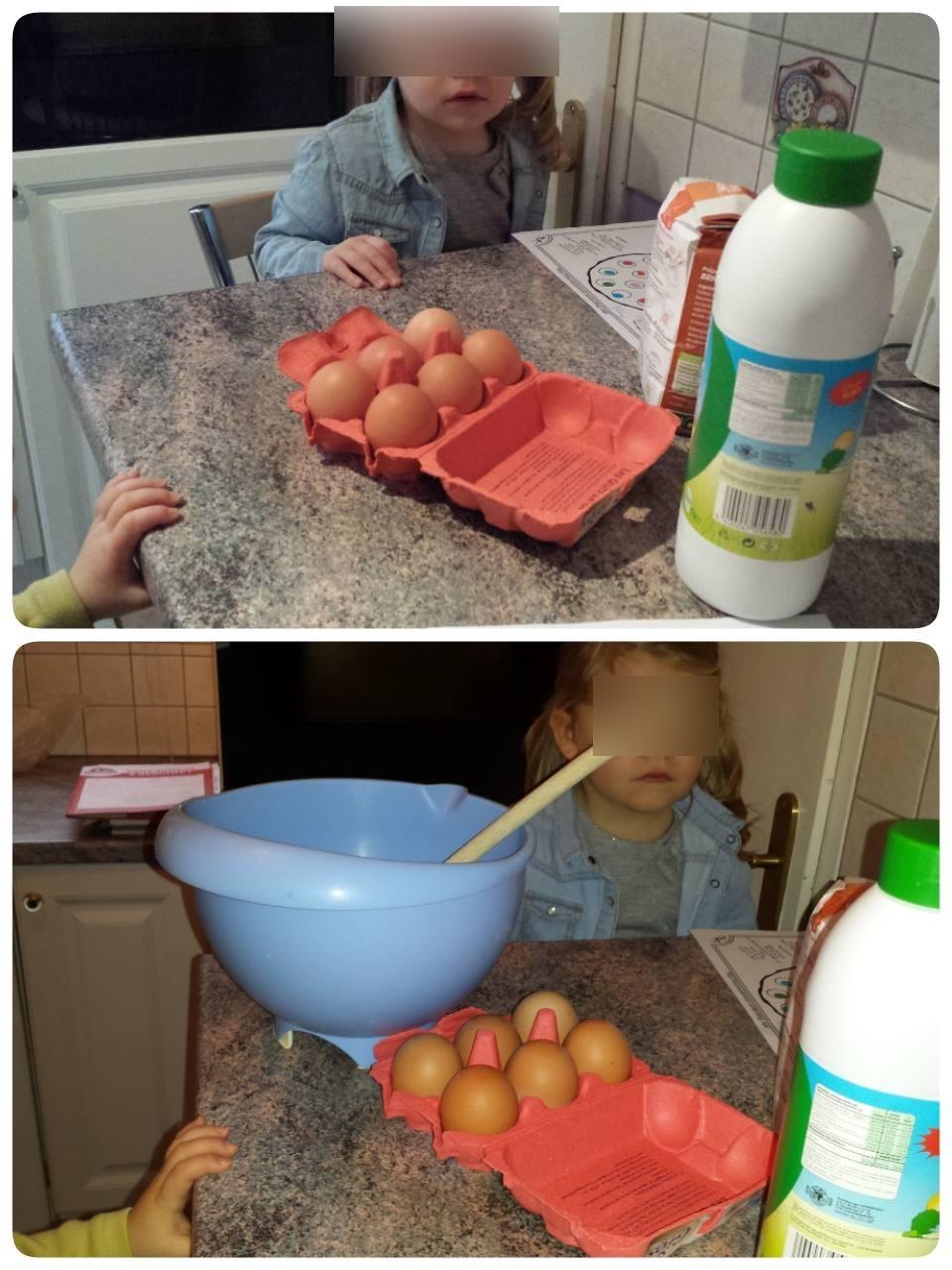 La chandeleur, blog, découverte des ingrédients pour la pâte à crêpes, assistante maternelle Villeparisis
