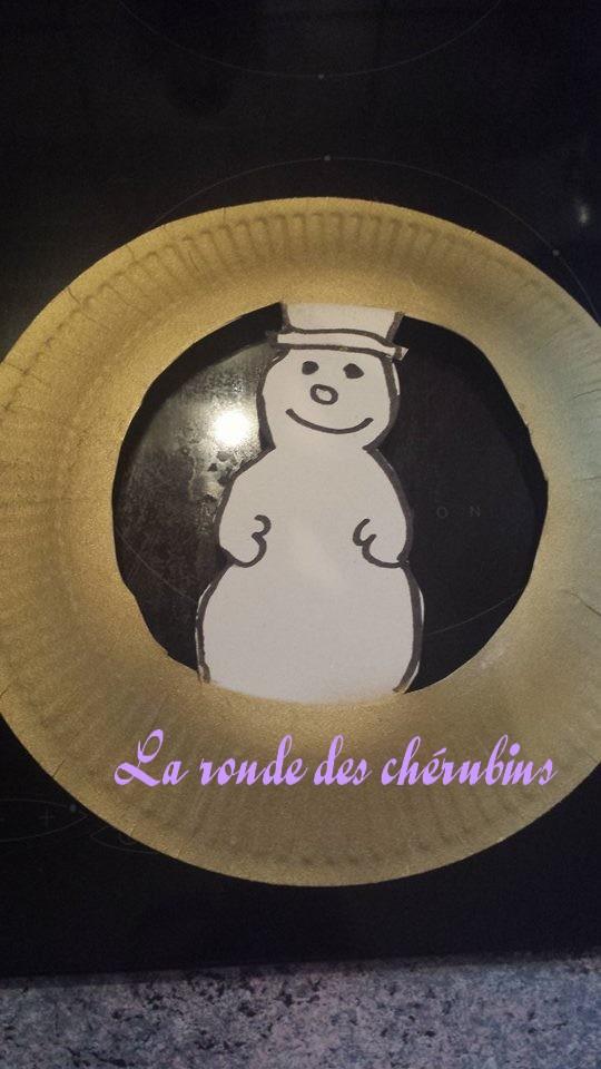 bonhomme de neige, assistante maternelle Villeparisis