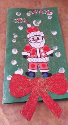 assistante maternelle Villeparisis, carte de Noël