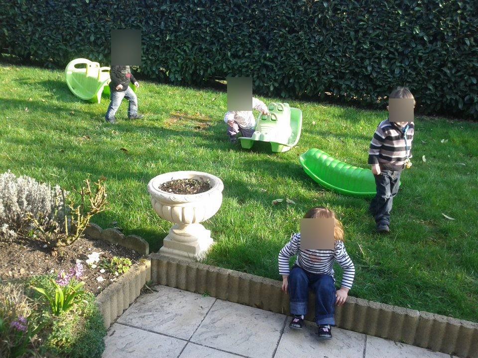 le jardin, assistante maternelle Villeparisis