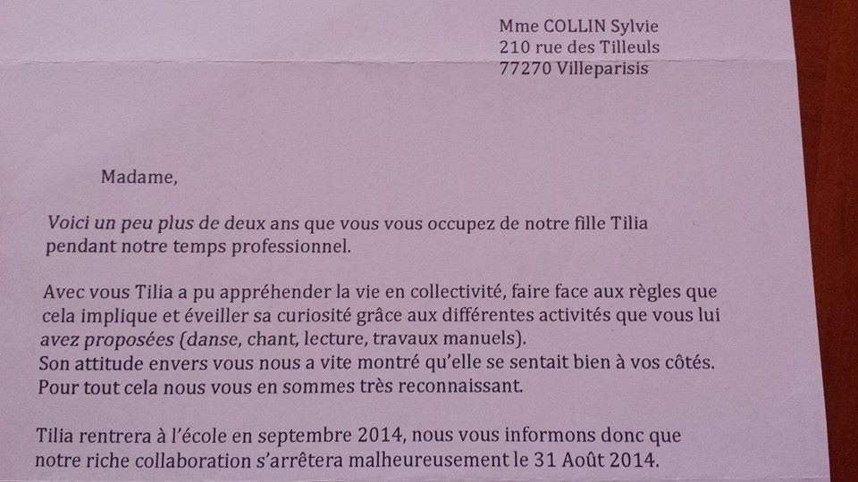 Super Lettre De Remerciement Pour Fin De Contrat | Candidature Spontanée  EB69