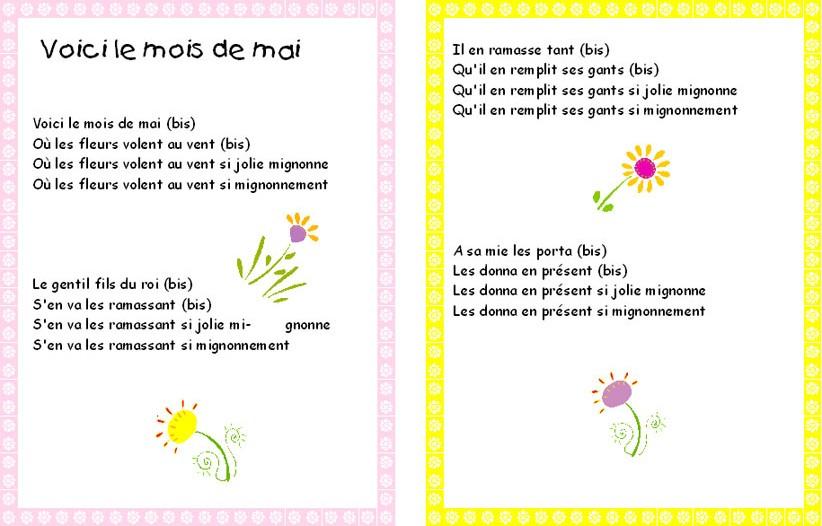 Voici le mois de Mai, blog assistante maternelle Villeparisis