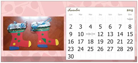 Novembre, assistante maternelle