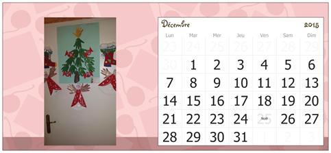Décembre, assistante maternelle Villeparisis